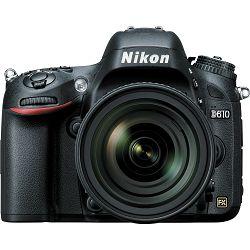 Nikon D610 AF-S + AF 24-85 VR KIT DSLR Digitalni fotoaparat s objektivom AF24-85VR (VBA430K001)
