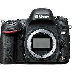 Nikon D610 Body DSLR Digitalni fotoaparat tijelo FX Full Frame (VBA430AE)