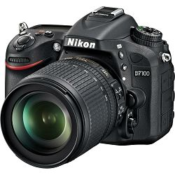 Nikon D7100 + 18-105VR KIT Consumer DSLR Digitalni fotoaparat s objektivom 18-105mm VR (VBA360K001)