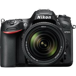 Nikon D7200 + 18-140VR kit DSLR digitalni fotoaparat 18-140mm f/3.5-5.6G ED 18-140 VR (VBA450K002)