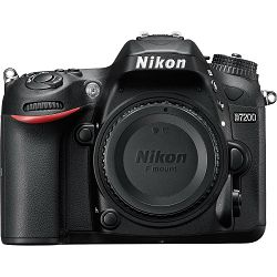 Nikon D7200 Body DSLR digitalni fotoaparat tijelo (VBA450AE)