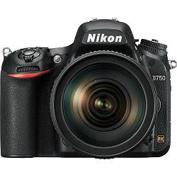 Nikon D750 + AF-S 24-120mm f/4G VR komplet DSLR Digitalni fotoaparat i objektiv 24-120 F4.0 (VBA420K001) - TRENUTNA UŠTEDA