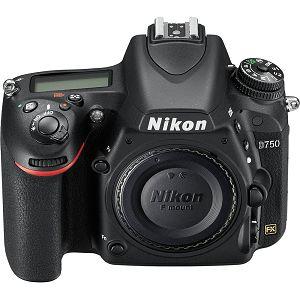 Nikon D750 Body DSLR Digitalni fotoaparat tijelo FX Full frame (VBA420AE) - ZIMSKA PROMOCIJA