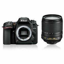 Nikon D7500 + 18-105VR KIT DSLR digitalni fotoaparat i objektiv Nikkor AF-S DX 18-105mm f/3.5-5.6G ED VR (VBA510K001) - LJETNA PROMOCIJA