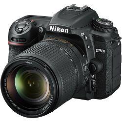 Nikon D7500 + 18-140VR KIT DSLR digitalni fotoaparat i objektiv Nikkor AF-S DX 18-140mm f/3.5-5.6G ED VR (VBA510K002) - LJETNA PROMOCIJA