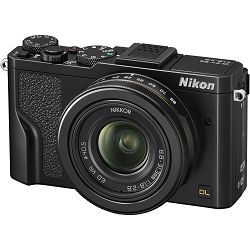 Nikon DL 24-85 f/1.8-2.8 Black Premium kompaktni digitalni fotoaparat Digital Camera VNA920E1