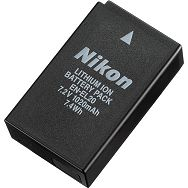 Nikon EN-EL20 1110mAh 7.2V Rechargeable Li-ion Battery EN baterija za Nikon 1 V3, J1, J2, J3, S1, Coolpix A, Blackmagic Pocket Cinema Camera (VFB11201)