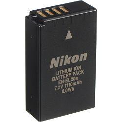 Nikon EN-EL20A Rechargeable Li-ion Battery baterija za Nikon 1 V3, J1, J2, J3, S1, Coolpix A, Blackmagic Pocket Cinema Camera (VFB11601)