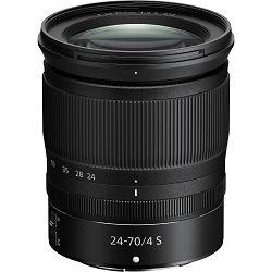 Nikon Z 24-70mm f/4 S standardni objektiv Nikkor 24-70 F4 zoom lens (JMA704DA)