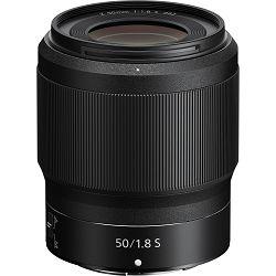 Nikon Z 50mm f/1.8 S FX Nikkor objektiv fiksne žarišne duljine (JMA001DA)