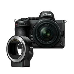 Nikon Z5 + Z 24-50mm + FTZ Adapter Kit Mirrorless Digital Camera bezrcalni digitalni fotoaparat s objektivom i adapterom (VOA040K003) - PRO VIKEND