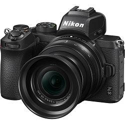 Nikon Z50 + Z 16-50mm f/3.5-6.3 VR DX KIT Mirrorless Digital Camera bezrcalni digitalni fotoaparat tijelo s objektivom (VOA050K001)