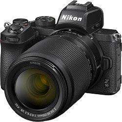 Nikon Z50 + Z 16-50mm f/3.5-6.3 VR + Z 50-250mm f/4.5-6.3 VR DX KIT Mirrorless Digital Camera bezrcalni digitalni fotoaparat tijelo s objektivima (VOA050K002)