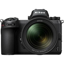 Nikon Z6 + 24-70mm f/4 S + FTZ Adapter KIT Mirrorless Digital Camera bezrcalni digitalni fotoaparat tijelo s objektivom i adapterom (VOA020K003)