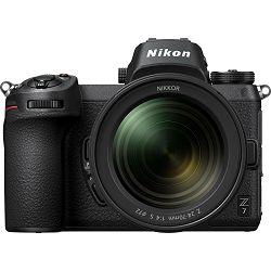 Nikon Z7 + 24-70mm f/4 S + FTZ Adapter KIT Mirrorless Digital Camera bezrcalni digitalni fotoaparat tijelo s objektivom (VOA010K003)
