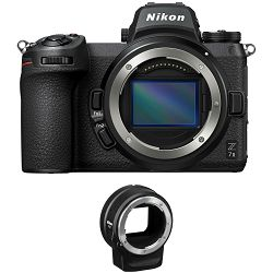 Nikon Z7 II Body + FTZ Adapter KIT Mirrorless Digital Camera bezrcalni digitalni fotoaparat tijelo s adapterom (VOA070K002) - PRO VIKEND