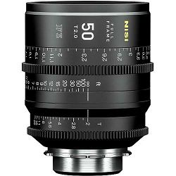 NiSi 50mm T2.0 F3 Prime Cinema Lens PL Mount Cine video filmski objektiv