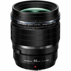 Olympus 45mm f/1.2 ED PRO telefoto objektiv fiksne žarišne duljine M. Zuiko Digital ET-M4512PRO 1:1.2 f1.2 1.2 prime lens Micro Four Thirds MFT micro4/3