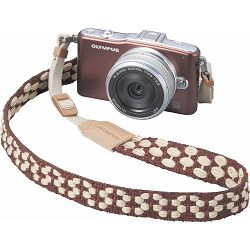 Olympus CSS-S114 Brown Fabric Strap V611032NW000