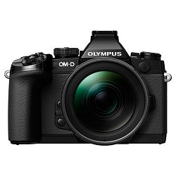 Olympus E-M1 Body black + EZ-M1250 black  incl. Charger & Battery Micro Four Thirds MFT - OM-D Camera digitalni fotoaparat V207015BE000