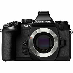 Olympus E-M1 Body black  incl. Charger & Battery Micro Four Thirds MFT - OM-D Camera digitalni fotoaparat V207010BE000