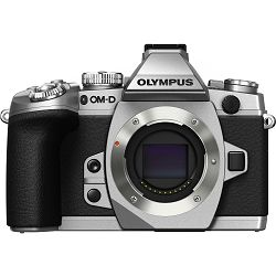 Olympus E-M1 Body silver  incl. Charger & Battery Micro Four Thirds MFT - OM-D Camera digitalni fotoaparat V207010SE000