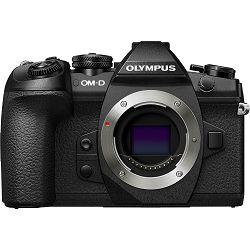 Olympus E-M1 II Body black including Charger & Battery OM-D E-M1II crni digitalni fotoaparat Mirrorless Micro Four Thirds Digital Camera (V207060BE000)