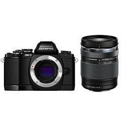 Olympus E-M10 II + 14-150 Black crni E-M10II 1415 Kit blk/blk 14-150mm Mark II EZ-M4015 R black incl. Charger & Battery Micro Four Thirds MFT - OM-D Camera digitalni fotoaparat V207054BE000