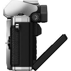 Olympus E-M10 II +14-42 Silver srebreni E-M10II 1442 IIR Kit slv/slv 14-42mm Mark EZ-M1442 IIR silver incl. Charger + Battery Micro Four Thirds OM-D Camera digitalni fotoaparat V207051SE000