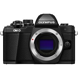 Olympus E-M10 II Body Black incl. Charger & Battery E-M10II crni Micro Four Thirds MFT - OM-D Camera digitalni fotoaparat V207050BE000