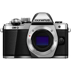 Olympus E-M10 II Body Silver incl. Charger & Battery E-M10II srebreni Micro Four Thirds MFT - OM-D Camera digitalni fotoaparat V207050SE000
