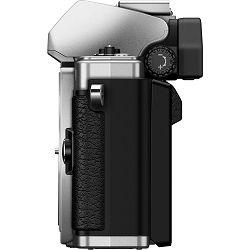 Olympus E-M10 II Body Silver incl. Charger & Battery E-M10II srebreni Micro Four Thirds MFT - OM-D Camera digitalni fotoaparat V207050SE000