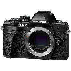 Olympus E-M10 III + 14-42mm + 40-150mm Double Zoom KIT Black crni digitalni fotoaparat s objektivima EZ-M1442 II R i EZ-M4015 R Mirrorless MFT Micro Four Thirds Digital Camera (V207071BE010)