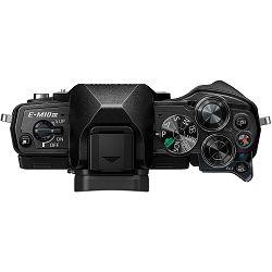 Olympus E-M10 III + 14-42mm + 40-150mm Double Zoom Pancake KIT Black crni digitalni fotoaparat s objektivima 14-42 f/3.5-5.6 i EZ-M4015 R Mirrorless MFT Micro Four Thirds Digital Camera (V207074BE000)