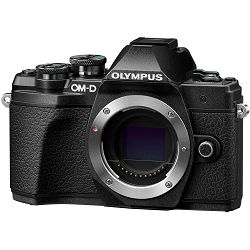 Olympus E-M10 III + 14-42mm + 40-150mm Double Zoom Pancake KIT Black crni digitalni fotoaparat s objektivima 14-42 f/3.5-5.6 i EZ-M4015 R Mirrorless MFT Micro Four Thirds Digital Camera (V207074BE000)