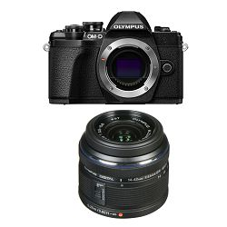 Olympus E-M10 III + 14-42mm KIT Black crni digitalni fotoaparat s objektivom 1442IIR blk/blk Mirrorless MFT Micro Four Thirds Digital Camera (V207071BE000)