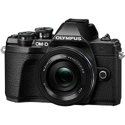 Olympus E-M10 III + 14-42mm KIT Pancake Zoom Black crni digitalni fotoaparat s objektivom 14-42 f/3.5-5.6 Mirrorless MFT Micro Four Thirds Digital Camera (V207072BE000)