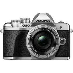 Olympus E-M10 III + 14-42mm KIT Pancake Zoom Silver srebreni digitalni fotoaparat s objektivom 14-42 f/3.5-5.6 Mirrorless MFT Micro Four Thirds Digital Camera (V207072SE000)