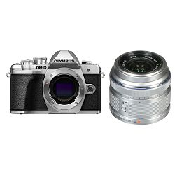 Olympus E-M10 III + 14-42mm KIT Silver srebreni digitalni fotoaparat s objektivom 1442IIR slv/slv Mirrorless MFT Micro Four Thirds Digital Camera (V207071SE000)