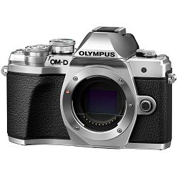 Olympus E-M10 III + 14-42mm KIT Silver srebreni digitalni fotoaparat s objektivom 1442IIR slv/slv Mirrorless MFT Micro Four Thirds Digital Camera (V207071SE000)