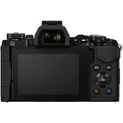 Olympus E-M5 II 14-42 Pancake Zoom Kit blk/blk E-M5 Mark II black + EZ-M1442EZ black incl. Charger & Battery Mirrorless Micro Four Thirds MFT - OM-D Camera digitalni fotoaparat V207044BE000