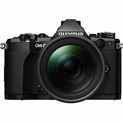 Olympus E-M5 II Body + 12-100mm IS PRO black crni Mirrorless Digitalni fotoaparat including Charger and Battery E-M5II (V207040BE010)