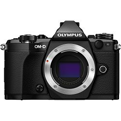 Olympus E-M5 II Body Black crni OM-D digitalni fotoaparat E-M5II Camera incl. Charger & Battery Micro Four Thirds MFT V207040BE000 - OLYMPUS BONUS