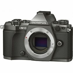 Olympus E-M5 II Body Limited Edition Titanium Mirrorless Digitalni fotoaparat including Charger and Battery E-M5II (V207040TE000)