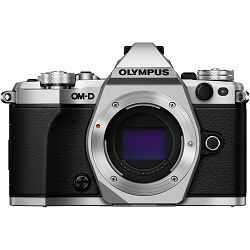 Olympus E-M5 II Body Silver srebreni OM-D digitalni fotoaparat E-M5II Camera incl. Charger & Battery Micro Four Thirds MFT V207040SE000