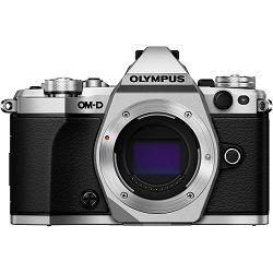 Olympus E-M5 II Body Silver srebreni OM-D digitalni fotoaparat E-M5II Camera incl. Charger & Battery Micro Four Thirds MFT V207040SE000