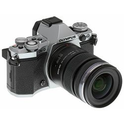 Olympus E-M5 II + 12-50mm Silver srebrenii E-M5II 1250 Kit blk/blk 12-50 E-M5 Mark II + EZ-M1250 black incl. Charger + Battery Micro Four Thirds MFT - OM-D Camera digitalni fotoaparat V207042SE000