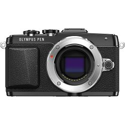 Olympus E-PL7 Body black incl. Charger + Battery Micro Four Thirds MFT - PEN Camera digitalni fotoaparat V205070BE000