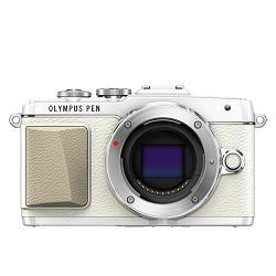 Olympus E-PL7 Body white incl. Charger + Battery Micro Four Thirds MFT - PEN Camera digitalni fotoaparat V205070WE000