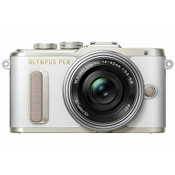 Olympus E-PL8 Body White incl. Charger + Battery Mirrorless Micro Four Thirds MFT - PEN Camera Bijeli digitalni fotoaparat (V205080WE000)